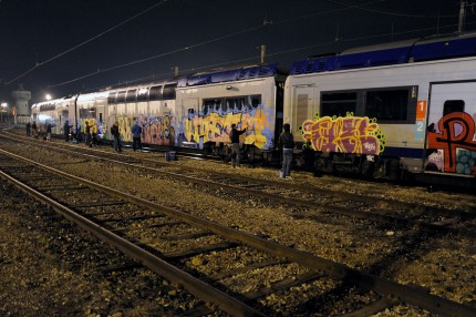 Graffiti writers